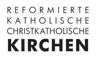 Reformierte, katholische und christkatholische Kirchen Schweiz Logo