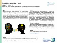 Idiolectics in Palliative Care