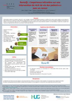 Revie⊕ : L'expérience infirmière sur une intervention de récit de vie des patient·e·s avec un cancer